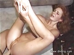 Redhead gets some licking and fucking from her hard boyfriend