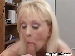 MILF Blowjob And Tit Fuck