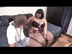Big girl wants to ride the black shaft on her way to ecstasy