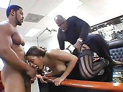 Ayana Angel goes after those black dicks with abandon and fucks