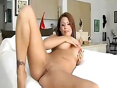 Eva gives us a closeup look at what it would be like to fuck her