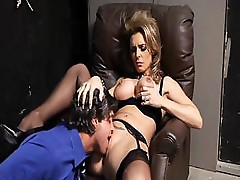 Rocco Reed and Tanya Tate get hot fucking in a cell at jail
