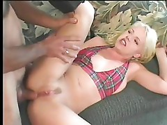 Blonde Dick Lover In Action