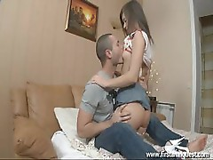 Young Girl Victoria Reaches An Orgasm