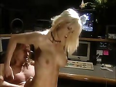 The sound man decides to get a little hot sex from busty Sunset Thomas
