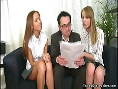 Teacher Punishes Naughty Girls Sophie And Ellie