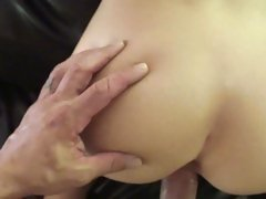 Sassy slut Emma Mae gets slammed up her wet flange