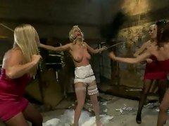 Bride Lorelei Lee gets stripped & tormented