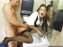 Milf Ryder Skey gets fucked doggystyle and wouldn't have it any other way.