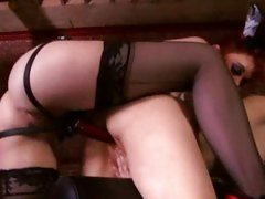 Bitching Justine Jolie gets rutted up her piss flaps