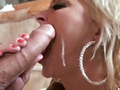 After a hardcore plowing, Monique Covet gets a well-deserved cumshot