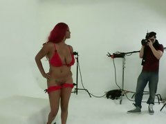 Lavish Styles gets her curves out for a photo shoot