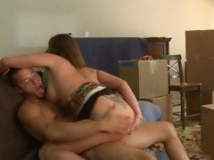 Dripping wet Tory Lane rides this dick up her veejay