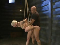 Dirty bitch Lorelei Lee gets rutted up her muff fluff
