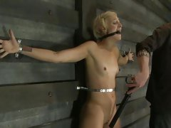 Petrified Dylan Ryan gets tortured with electricity
