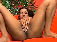Agata Prado and her Large Dildo