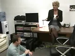 Subby office lad