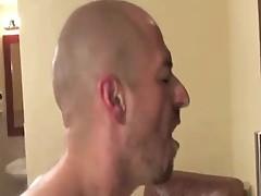 Face fuck big cock