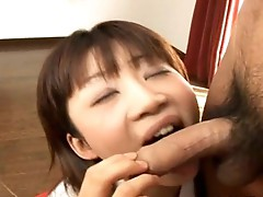 in heat sucking cock