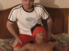 Ticklish gym instructor