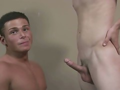 Straight Bobby gets amazing blowjob