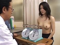 Nude japanese office girl