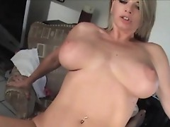 Bigtit blonde blowjob video
