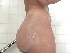 Big ass in shower