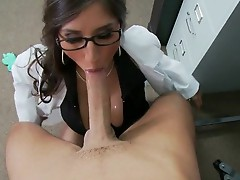 Large Boobs brunette Alexis Breeze in hardcore fuck