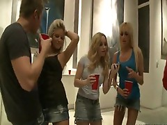 Wild and obscene gangbang party