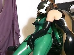 Slave chick has taken by a horny pair