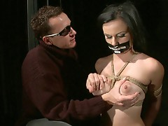 Estella is such a willing new slave. She adores her Master,...