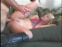 Shy Missy has to learn how to take it