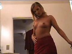 Nina makes hot strip