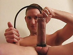 Gay pumparty and self-sucking experience