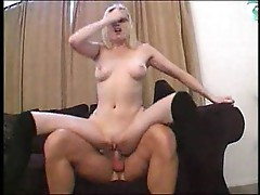 Pale sweet blonde pussy fucked
