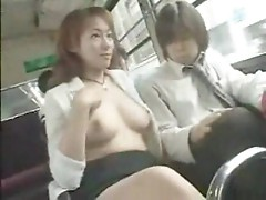 Bus seduction in Japan