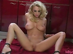 Anita Dark enjoying herself