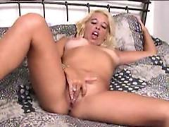 Claudia masturbating