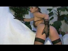 Girl with whip getting horny 1