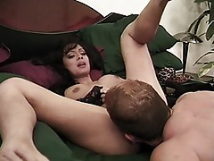 Horny lady is a man