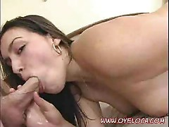 "Cuban Megan sucking her ""cigar"""