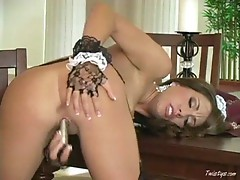 Tiffany is a horny maid 4