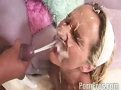 Huge cum shot