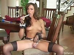 Tiffany is a horny maid 3