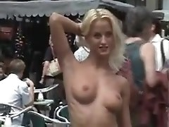 Cynthia Paul shamelessly walks naked in public