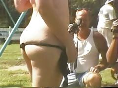 Fun at a Nudist rally 8