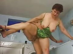 Brunette German Mature Mother Hard