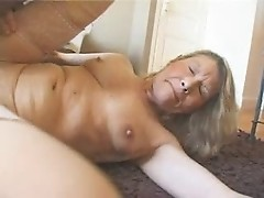 French Granny Gets BBC Anal