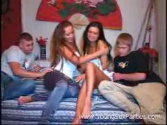 Young First Time Swingers